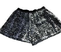 Second Hand Shorts Baumwolle Schwarz