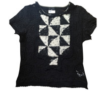 Second Hand VINTAGE Chanel Wolle T-shirt