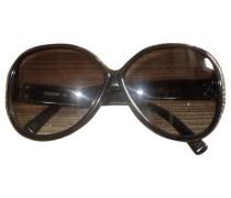 Second Hand Sonnenbrillen Kunststoff Schwarz