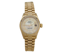 Second Hand Lady Oyster Perpetual 26mm Gelbgold Uhren