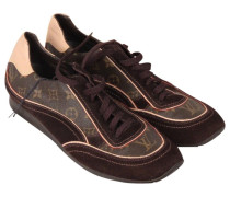 Second Hand Sneakers Veloursleder Braun