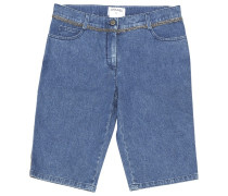 Second Hand Shorts Denim - Jeans Blau