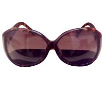 Second Hand Sonnenbrillen Kunststoff Leopard