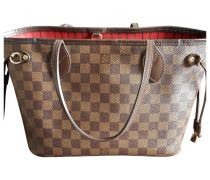 8590c0e7afedea Second Hand Neverfull Leinen Shopper. Louis Vuitton