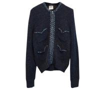 Second Hand Pullover Baumwolle Blau