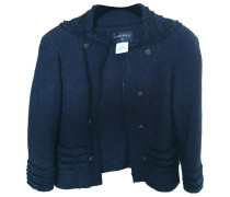 Second Hand Jacke Wolle Blau