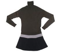 Second Hand Kleid Wolle Grün