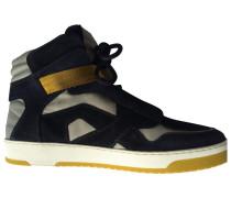 Second Hand Sneakers Velourleder Blau