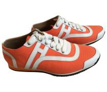 Second Hand Sneakers Leder Orange