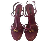 Second Hand Lackleder sandalen