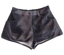 Second Hand Shorts Denim - Jeans Grau