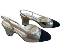 Second Hand Slingback Lackleder Pumps