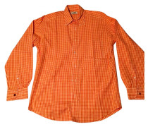 Second Hand Shirt Baumwolle Orange