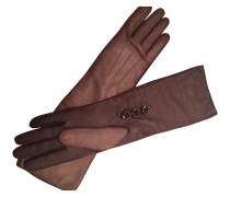 Second Hand Leder lange handschuhe