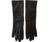 Second Hand Handschuhe Leder Braun