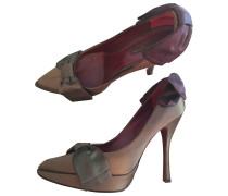 Second Hand Leinen Pumps