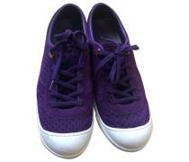 Second Hand Sneakers Veloursleder Lila