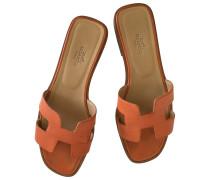 Second Hand Oran Leder Sandalen