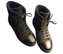 Second Hand Sneakers Veloursleder Anthrazit