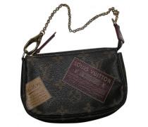 Second Hand Pochette Leinen Handtaschen