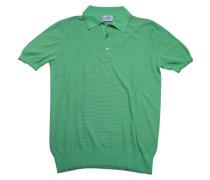 Second Hand Poloshirt Baumwolle Grün