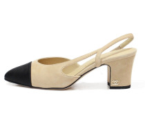 Second Hand Slingback Leder Pumps