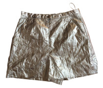 Second Hand Shorts Polyester Silber