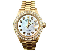 Second Hand Lady DateJust 26mm Gelbgold Uhren