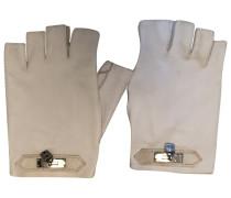 Second Hand Leder Halbfingerhandschuhe