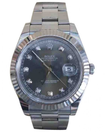 Second Hand DateJust II Uhren