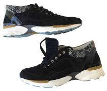 Second Hand Sneakers Veloursleder Schwarz