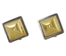 Second Hand Ohrringe Goldplattiert Golden