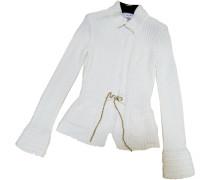 Second Hand Pullover Baumwolle Weiß