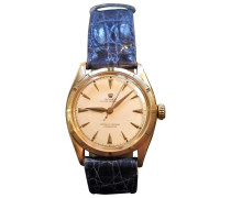 Second Hand Oyster Perpetual Gelbgold Uhren