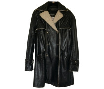 Second Hand Trench Leder Schwarz