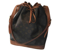 Second Hand Noé Leinen Handtaschen
