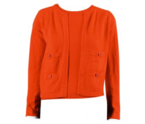 Second Hand Pullover Baumwolle Orange