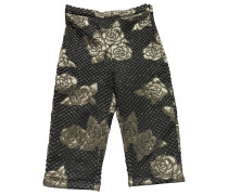 Second Hand Shorts Polyester Gold
