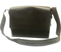 Second Hand Drake Leder Business tasche