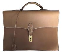 Second Hand Tasche Leder Kamel