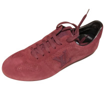 Second Hand Sneakers Veloursleder Rot