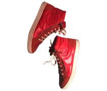 Second Hand Sneakers Veloursleder Rot