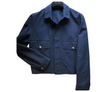 Second Hand Jacke.Blouson Baumwolle Blau