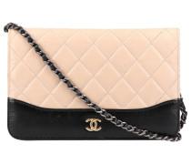 Second Hand Wallet on Chain Leder kleine tasche