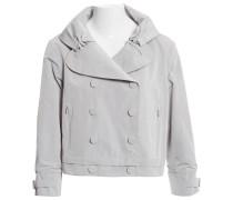 Second Hand Jacke Polyester Grau