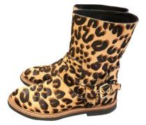 Second Hand Kalbsleder in pony-optik Cowboy-boots