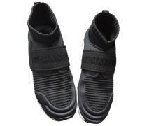 Second Hand Sneakers Kautschuk Schwarz
