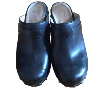 Second Hand Leder Clogs