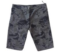 Second Hand Shorts Baumwolle Grau