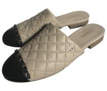 Second Hand Leder Pantoffeln